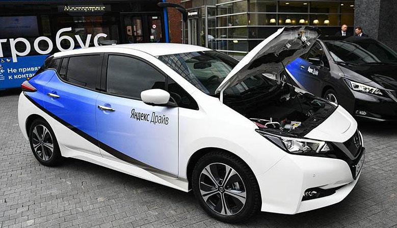 Электромобили появились в каршеринге Яндекс Драйв в Москве